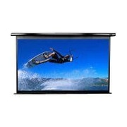 "Elite Screens VMAX2 Series 106"" Electric Wall and Ceiling Projector Screen, Black Casing"