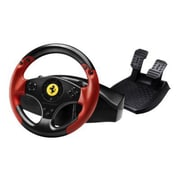 Thrustmaster® 4060052 Red Legend Edition Ferrari Racing Wheel For PlayStation 3, Red/Black