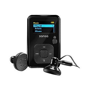 SanDisk® SDMX18R-008GK-A57 Sansa Clip+ 1in. 8GB Flash MP3 Player