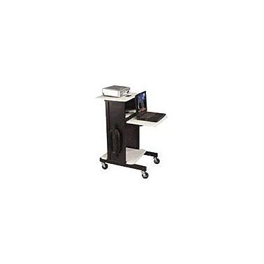 Balt 89759 2 Shelves Projector Stand, Gray/Black