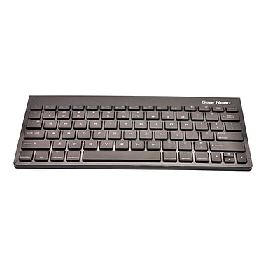 Gear Head™ KB6500BTIP Wireless Bluetooth Keyboard For IPAD 2 Connectivity