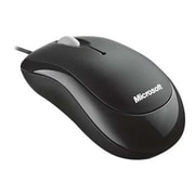 Microsoft 4YH-00005 Wired Optical Mouse, Black