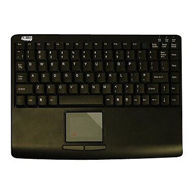 Adesso AKB-410UB USB Slim Touch Mini Keyboard