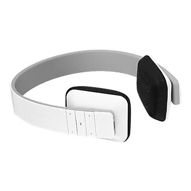 Aluratek ABH04F Bluetooth 3.0 Wireless Stereo Headphone, White