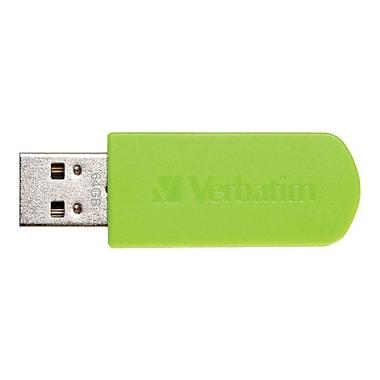 Verbatim® Store 'n' Go® Mini 64GB USB 2.0 Flash Drive With Cap, Eucalyptus Green