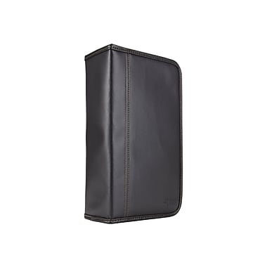 Case Logic® Koskin 92 CD Wallet, Black, Each