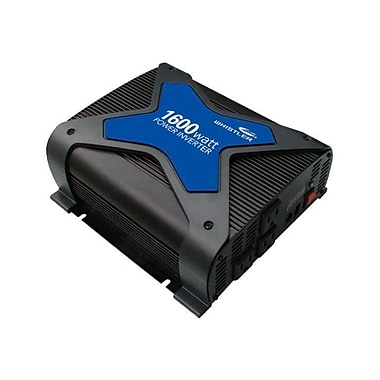 Whistler PRO-1600W DC-to-AC Power Inverter, 12 VDC Input, 110 VAC Output, 3 Outlets