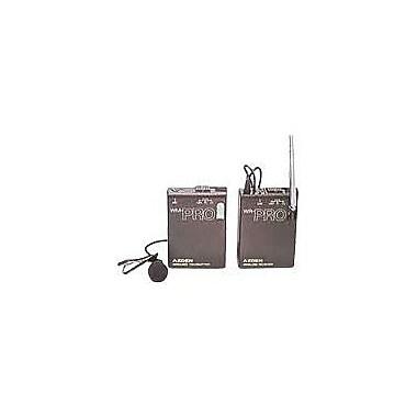 Azden® 3.3in.H x 2.4in.W x 0.85in.D PRO VHF Lavalier Microphone System
