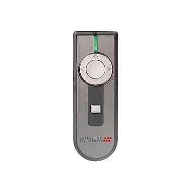 SMK-Link VP4450 100' Wireless PowerPoint Presentation Remote Control with Laser Pointer, Black