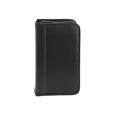Case Logic® Koskin 128 CD Wallet, Black, Each