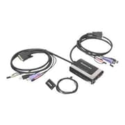 Iogear® GCS932UB USB DVI-D Cable KVM Switch With Audio And Mic, 6.5'