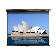 "Elite Screens® Manual Series 94"" Manual Projection Screen, 16:10, Black Casing"