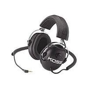 Koss QZ99 Stereo Passive Noise Reduction Headphone, Black