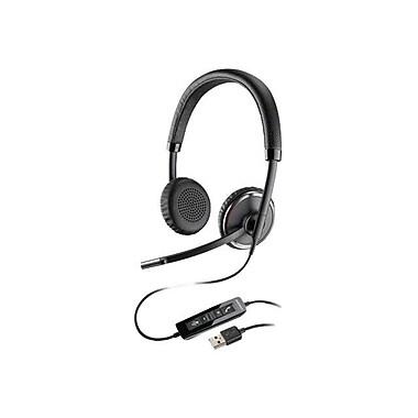 Plantronics® Blackwire 500 C520 Binatural Headset, Black