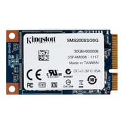 "Kingston® SSDNow System Builders Solid State Drive, 1.5"" x 2.5"" Mini-SATA 600 Internal, 30GB"
