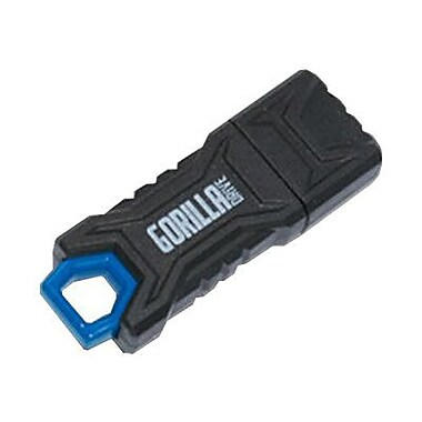EP Memory GorillaDrive™ 8GB USB 2.0 USB Flash Drive (Black)