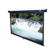 "Elite Screens® Manual Series 139"" Projection Screen, 16:10, Black Casing"