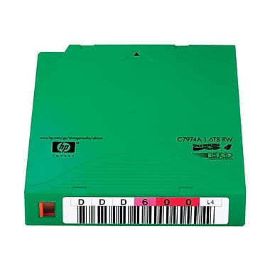 HP C7974AN 800 GB LTO Ultrium 4 Data Cartridge, 20/Pack