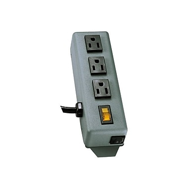 Tripp Lite 3SP Power Strip With 6' Black Cord, 3 Outlets