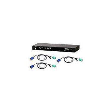 Aten® CS1308KIT USB/PS2 KVM Switch With 8 USB Cables, 8 Ports