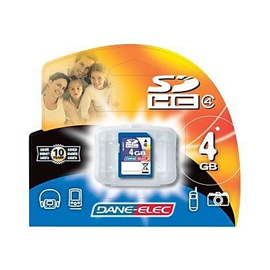Dane-Elec DA-SD Secure Digital Flash Memory Card, 4GB