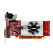 MSI N610GT-MD2GD3/LP GeForce GT 610 GPU Graphic Card With NVIDIA Chipset, 2GB DDR3 SDRAM