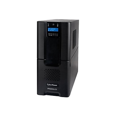 Cyberpower® PR3000LCD Pure Sine Wave Tower LCD 3 kVA UPS