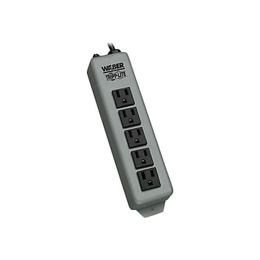 Tripp Lite 60215 Power Strip With 15' Black Cord, 5 Outlets