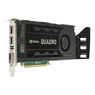 HP® NVIDIA Quadro K4000 Plug-in Card 3GB GDDR5 SDRAM Graphic Card