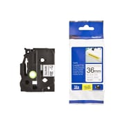 Brother® TZE Extra Strength Label Tape, 1.4(W) x 26.2'(L), White