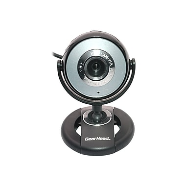 Gear Head™ WC740I-CP10 Pro Webcam, 1280 x 1024, 1.3 MP