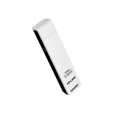 TP-LINK TL-WN721N Wireless N150 USB Adapter,150Mbps,w/WPS Button, IEEE 802.1b/g/n, WEP, WPA/WPA2