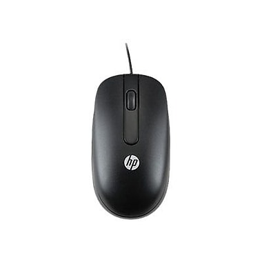 HP QY778AT USB Wired Laser Mouse, Black