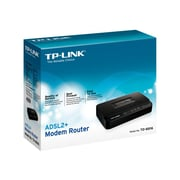 TP-LINK TD-8816 ADSL2+ Modem Router, 1 RJ45, ADSL Splitter, 24Mbps Downstream, QoS, NAT firewall