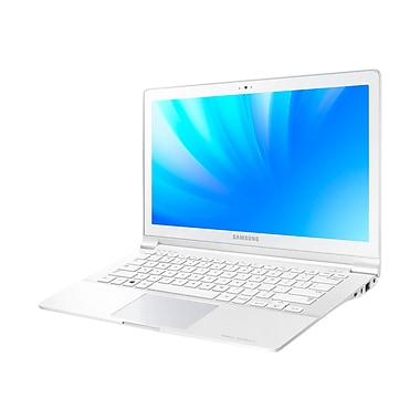 Samsung ATIV Book 9 Lite 13.3in. LED Notebook, AMD Quad Core 1.4 GHz, White Marble
