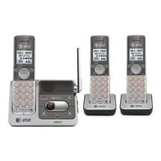 AT&T CL82301 3 Handset Cordless Phone With Answering System, 50 Name/Number
