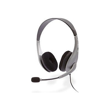 Cyber Acoustics AC-404 Deluxe Stereo Headset With Y-Adapter
