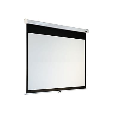 Elite Screens® Manual SRM Pro Series 84in. Manual Projection Screen, 16:9, White Casing