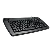 Adesso® ACK-5010UB Mini Trackball USB Keyboard