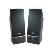 Cyber Acoustics CA-2012 Amplified Computer Speaker System, Black