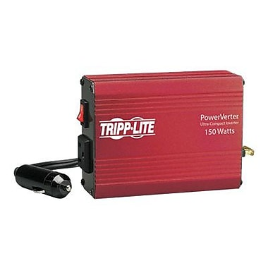 Tripp Lite PowerVerter® 150 W Ultra-Compact Inverter, 12 VDC Input, 120 VAC Output, 1 Outlet