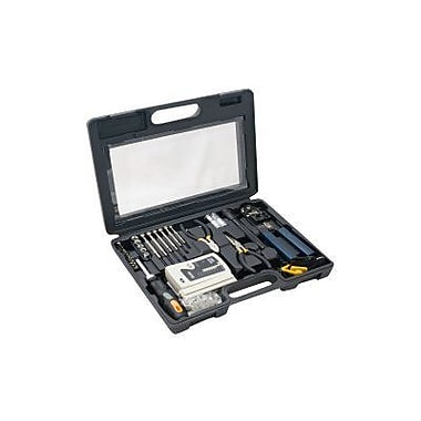 Syba SY-ACC65047 50-Piece Computer Network Installation Tool Kit With Multi-Module Cable Tester