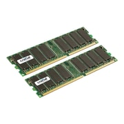 Crucial CT2KIT12864Z335 2GB (2 x 1GB) DDR 184-Pin Desktop Memory Module Kit