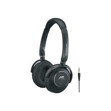 JVC HANC250 Noise Canceling Headphones, Black