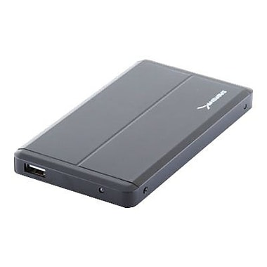 Sabrent EC-UST25 USB 2.0 to 2 1/2in. SATA Aluminum Hard Drive Enclosure, Black