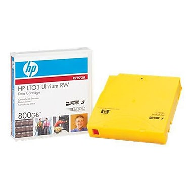 HP  C7973AN LTO Ultrium 3 Non-Custom Labeled Tape Cartridge, 400 GB (Native)/800 GB (Compressed)