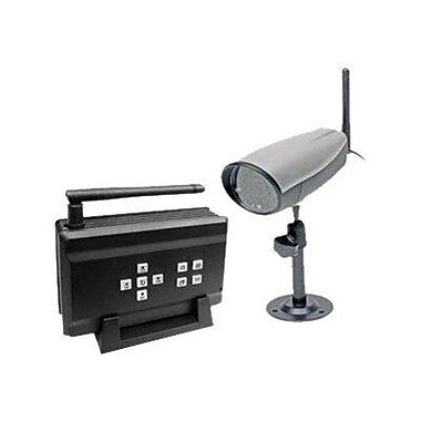 Q-See™ QSDT404C 400 TV Lines 1/4in. Color CMOS Digital Camera Security System