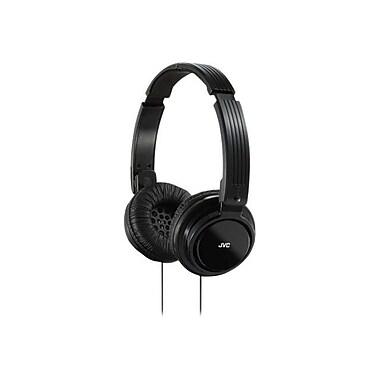 JVC HAS200 Foldable On Ear Headphone, Black