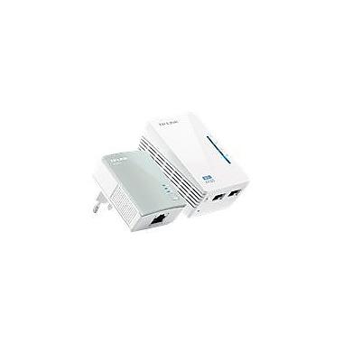 TP-LINK TL-WPA4220KIT N300 Advanced Universal WiFi Range Extender/AV500 Wireless Powerline Adapter