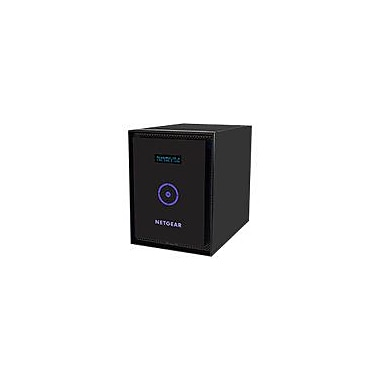 NETGEAR ReadyNAS 316 Diskless Network Attached Storage Server, 2 GB, 110 - 220 VAC